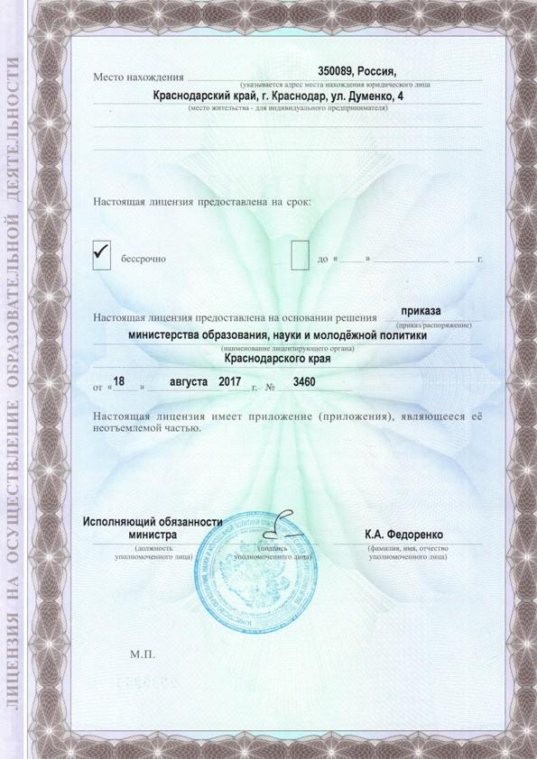 Лицензия стр1